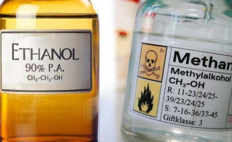 Ethanol và Methanol ?!